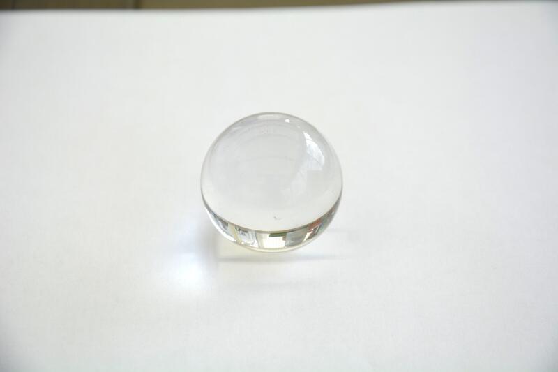 Glaskula 3,5 cm klar