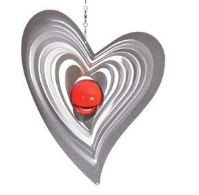 Vindspel Swing 18 cm Röd kula