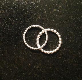Kulring 1,2 mm silver